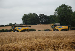 Combining with Yeild Metering, Yeild Mapping, GPS and Straw Chopping