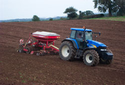 Seeding with Combination Units, Horsch Min Till & Precision Drilling